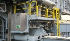 Cilindro de deslizamento hidráulico de grande porte