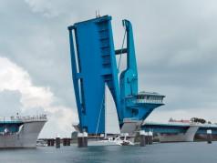 Cilindros para pontes hidráulicos de grande porte