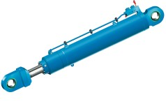 Cilindro de lança hidráulico de grande porte