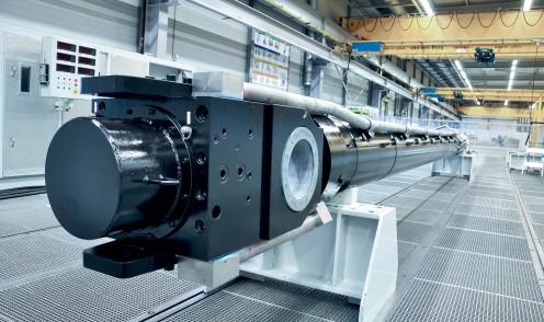 Cilindro para engenharia civil hidráulico de grande porte