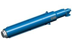 Cilindros de prensa de tarugos hidráulicos de grande porte