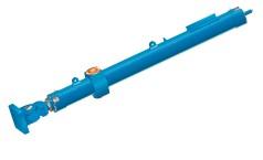 Cilindro de comporta mitra hidráulico de grande porte